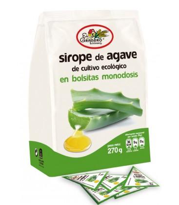 Agave Sirope monodosis 270g.