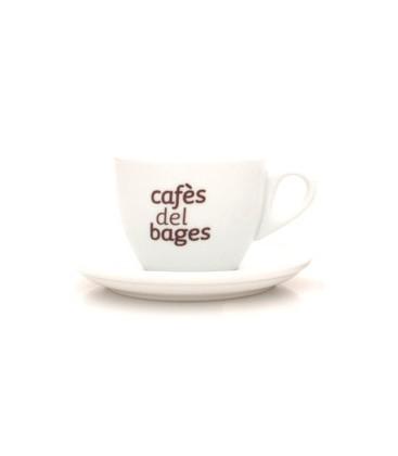 Tassa i Plat Cafè amb llet
